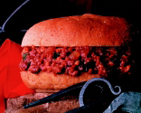Sloppy Joes made with soy-containing veggie mix is only one example of a product that could be found on a healthy, fast-food menu. Other applications such as tacos, hamburgers, and pasta can help soy find its way into the mainstream.