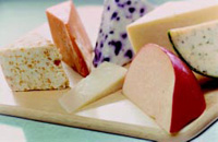Enzymes can play a major role in the development of flavors. For example, enzyme-modified cheese flavors can be produced by a range of enzyme systems.