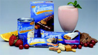Glucerna shakes and snack bars meet the American Heart Association guidelines for fat intake, with only 1 g of saturated fat per serving.