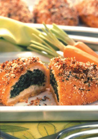 Breaded products have evolved beyond the traditional crumb in terms of functionality, potential health benefi ts, fl avor, texture, and appearance.