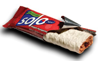 Solo GI bars are said to provide a gradual release of energy that helps to maintain stable blood sugar levels.