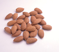 Including almonds in the diet has been shown to help reduce cholesterol.