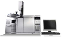 The Agilent 5975C GC/MSD is equipped with an automatic liquid sampler.
