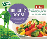 Green Giant Immunity Boost Frozen Vegetables are naturally rich in antioxidant vitamins A and C to help support a healthy immune system.