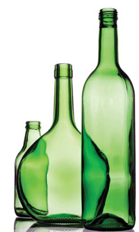 U.S. consumers use more than 35 billion glass bottles and jars each year.