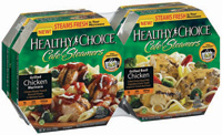 Packaging technology such as that featured in Healthy Choice Café Steamers capitalizes on the unique properties of microwave radiation to engineer uniform and rapid moist heating.