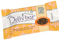 Bellybar snack bars contain 50 mg of DHA per bar.
