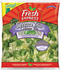 Modified atmosphere packaging has reduced fresh produce losses.