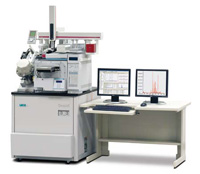 LECO's Pegasus HT single-dimension GC-TOFMS outfitted with Gerstel's MPS2 Autosampler, Thermal Desorption Unit, and RVM Low Thermal Mass Column.