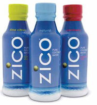 ZICO coconut water is produced using a flash pasteurization process.