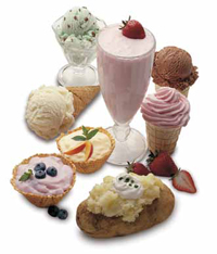 Don't take emulsifiers for granted. Without them, familiar products such as ice cream, some beverages, and sour cream would not be possible.