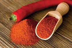 Paprika is also a top-selling spice in the United States.