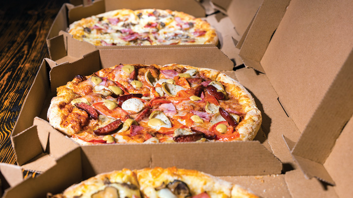 Pizza Boxes: Packaging that meets shelf life goals