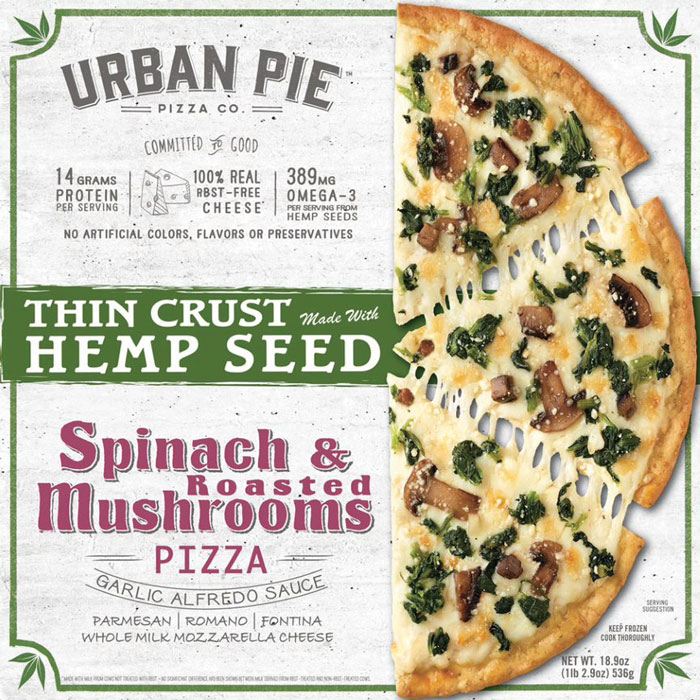 Urban Pie Spinach and Mushroom