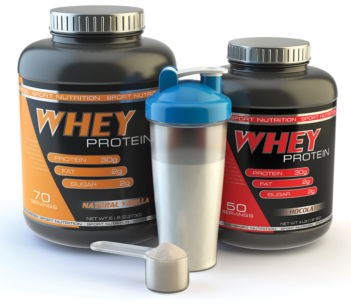 Whey Containers