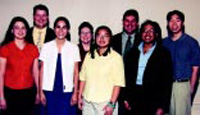 2001 IFT Student Competition Winners