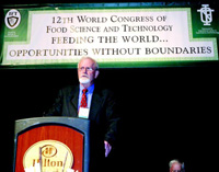 President of the World Food Prize Foundation, announced that Catherine Bertini of the United Nations World Food Program will receive the 2003 World Food Prize on October 16-17, 2003, in Des Moines, Iowa, for her leadership in saving millions from famine and starvation. Per Pinstrup-Andersen [6],