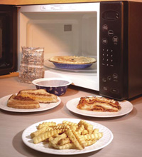 Microwave Combination Heating