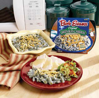 Bob Evans' new microwavable Green Bean Casserole makes comfort food for Baby Boomers easy to prepare.