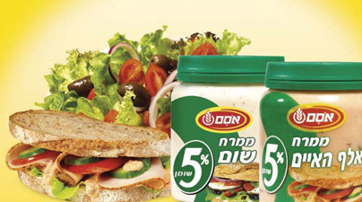 Figure 3. Sandwich spreads marketed by Nestlé in Israel were also developed by the SIT method.