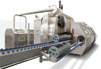 Commercial-scale, high-pressure processing systems cost approximately $500,000 to $2.5 million, depending on equipment capacity and extent of automation. Commercial batch vessels have internal volumes ranging from 30 to more than 600 liters.