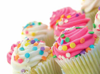 In today's economy, these bright and cheery cupcakes may be just what the doctor ordered. The cupcakes are made with gum systems that demonstrate functionality benefits as well as cost effectiveness.