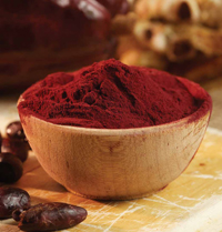 Polyphenols, including flavanols, occur in particularly high concentrations in products such as cocoa powder.