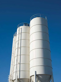Storage vessels such as silos are often plagued with problems related to bulk solids flow.