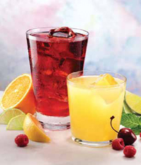 Today's beverage concepts utilize trendy fruit or floral flavors, vanilla-tea combinations, assorted teas, and masking flavors used in conjunction with sweetener alternatives.