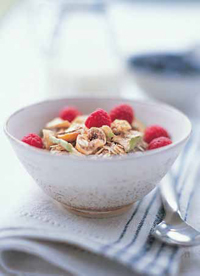 Fiber-fortified cereal can support weight management and enhance satiety.