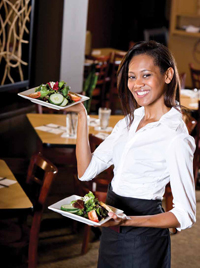 Healthy and better-for-you food options are becoming more popular with many restaurant patrons.