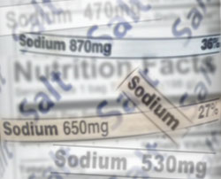 Checking the Nutrition Facts Panel can help consumers understand the amount of sodium a product contains.