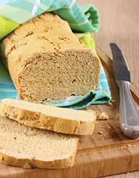 Sorghum can replace wheat flour in gluten-free bread.