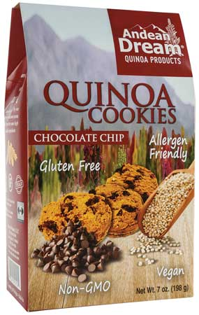 Quinoa gluten-free cookies from Andean Dream