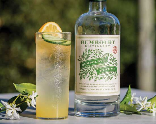 Humboldt's Finest award-winning vodka