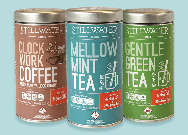 Stillwater Brands' organic teas and Colombian coffee