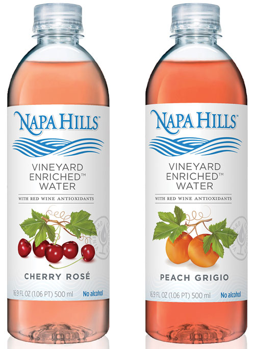 Wine water from Napa Hills