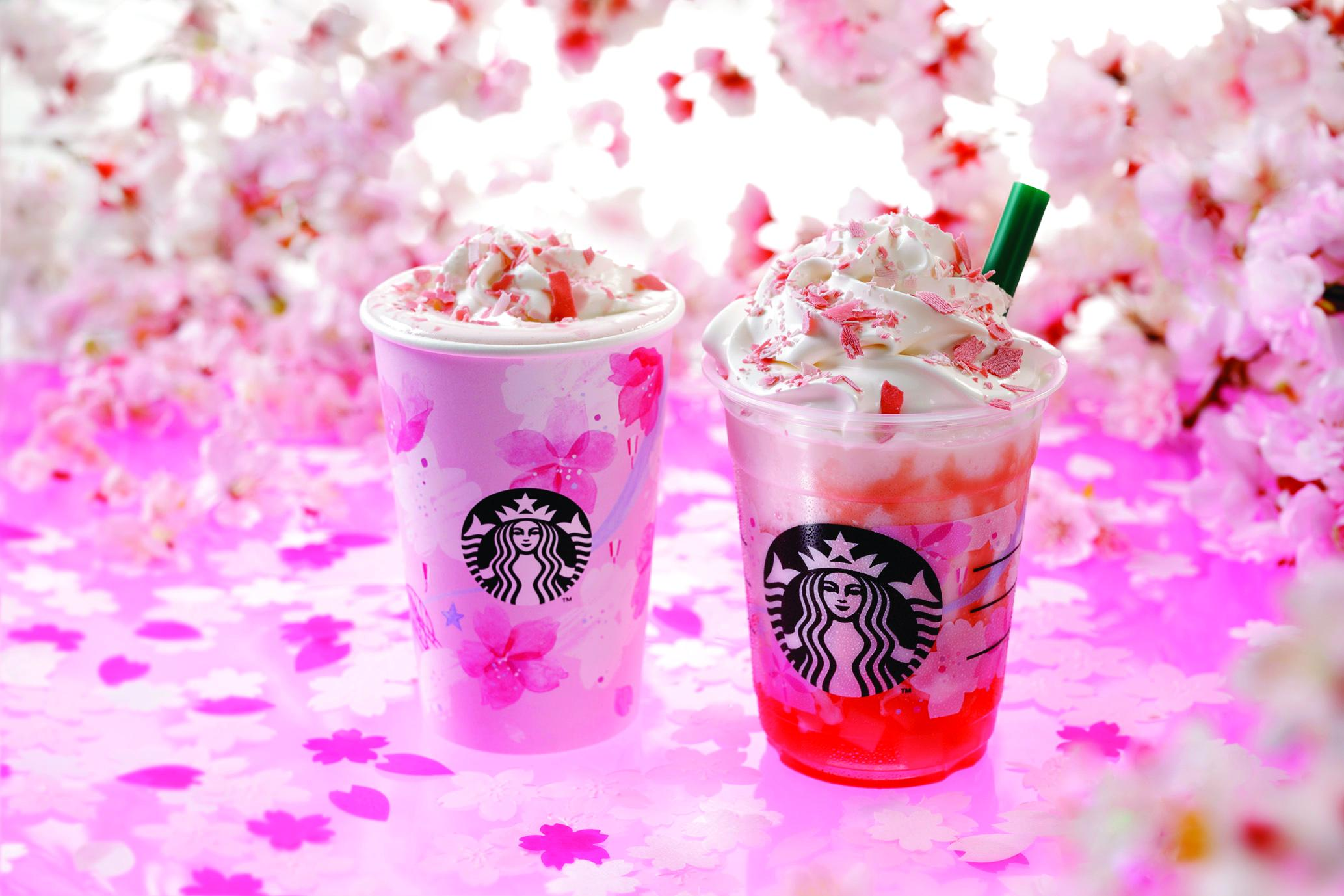 Starbucks Sakura  Beverages
