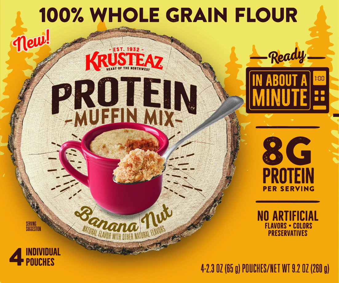 Krusteaz Banana Nut Protein Muffin Mug