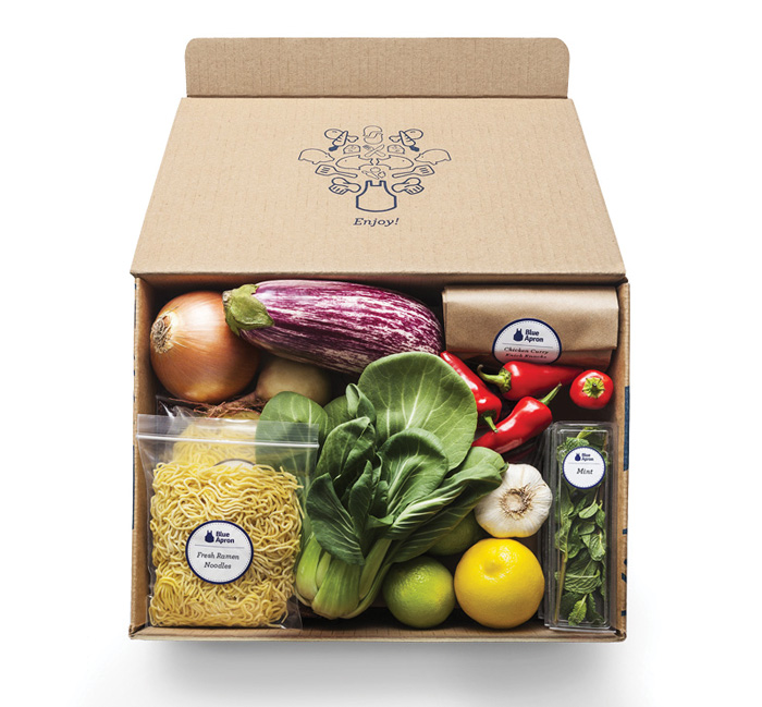 FoodDelivery_BlueApron box