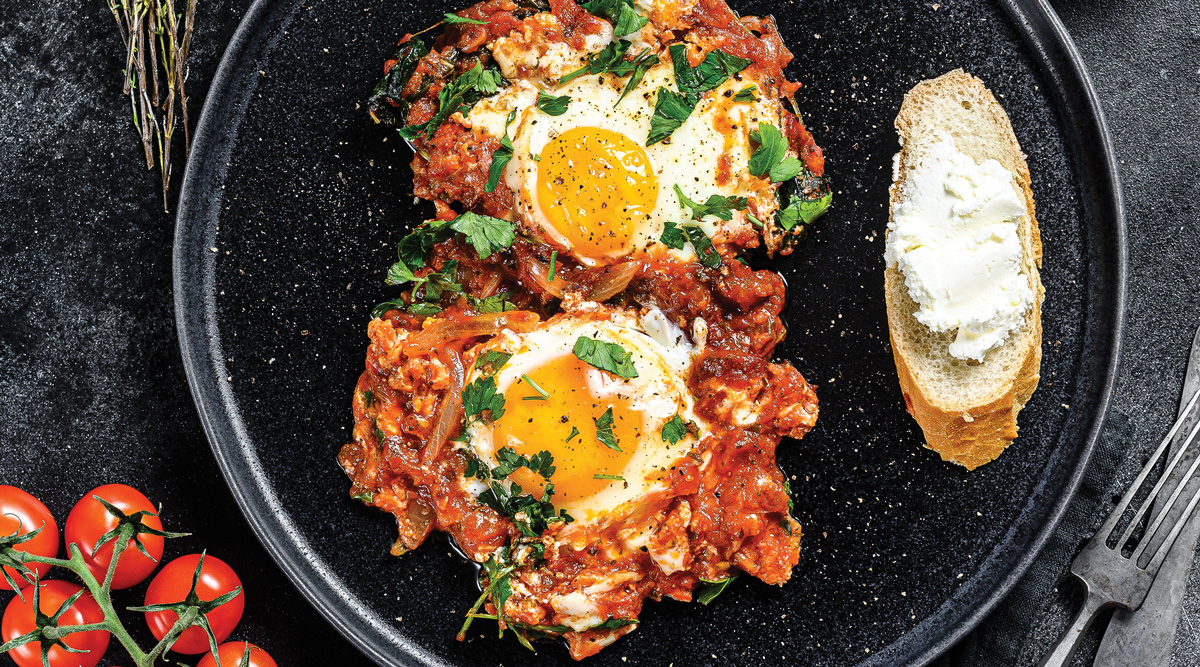 Middle Eastern Shakshuka