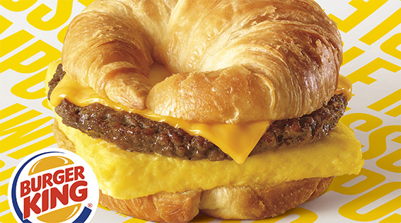 Burger King Croissan-wich