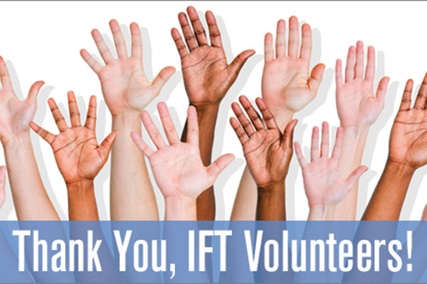 IFT Volunteers Advance the Science of Food