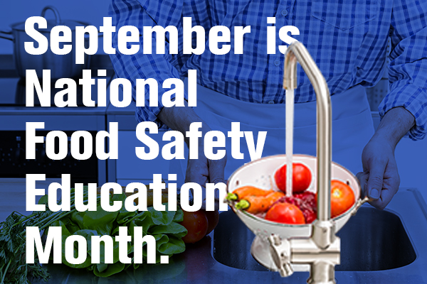 September National Food Safety Education Month