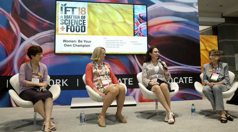 Women at IFT18