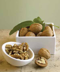 The omega-3 fatty acids found in walnuts may provide benefits to heart health.
