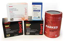 GNC products formulated with MegaNatural®-BP