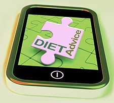 Mobile apps and Internet sites are important diet and nutrition resources.