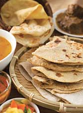 Chapati and other flatbreads are popular with consumers.
