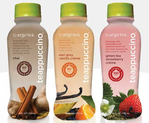 Argo Tea Teappuccino beverages